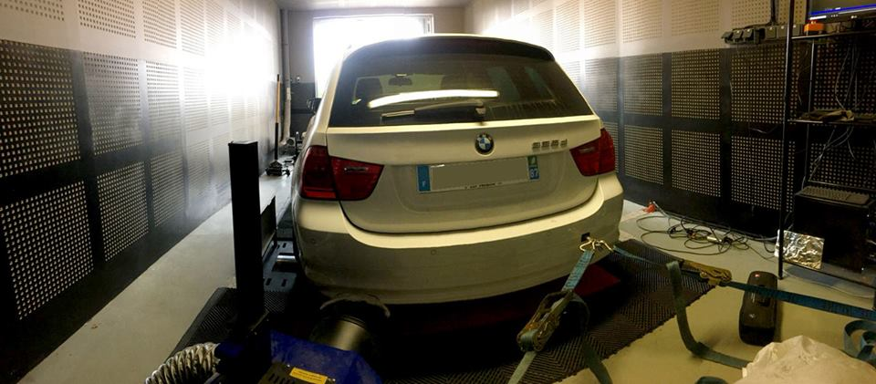 Reprogrammation BMW 325d 204cv