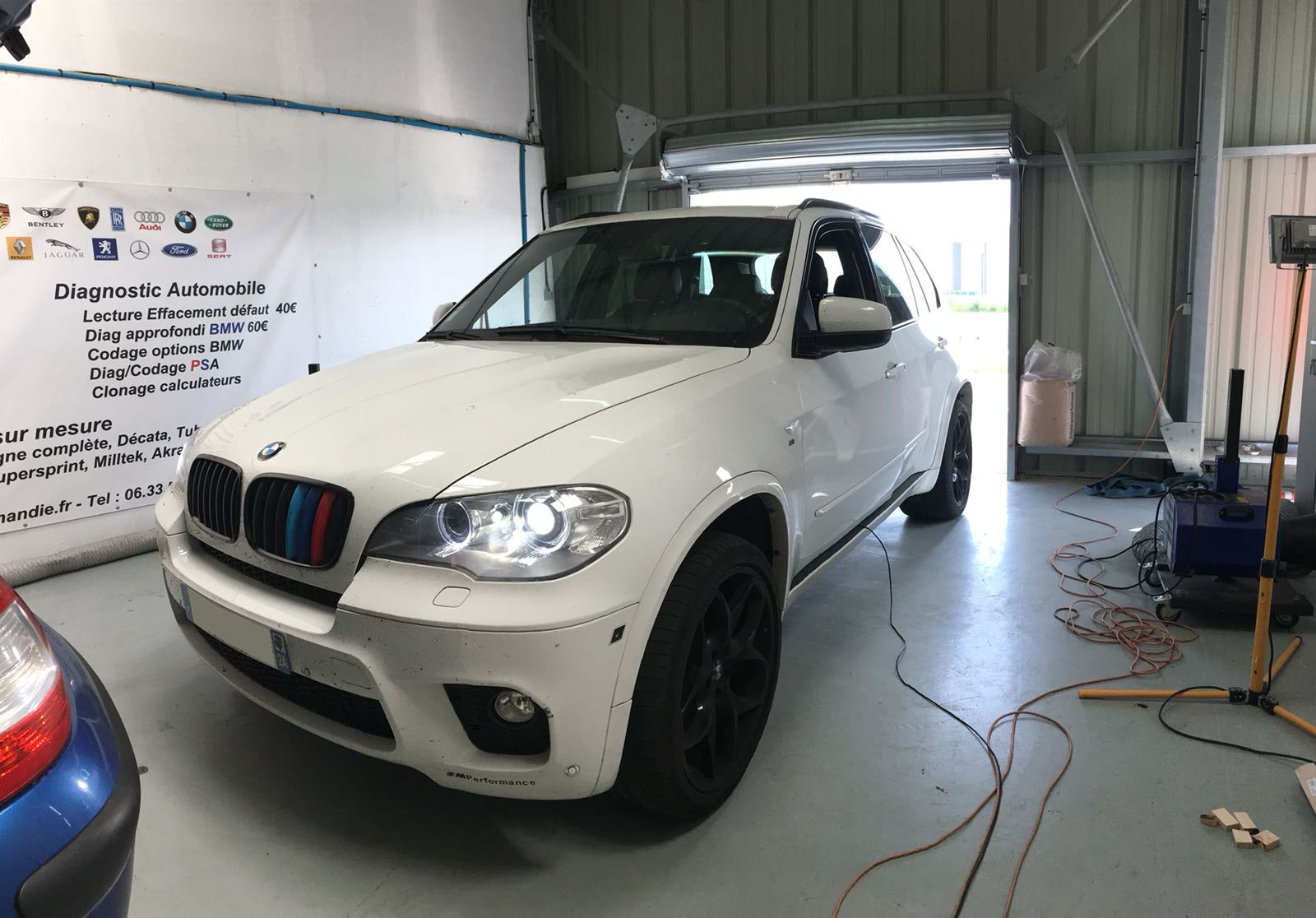 Reprogrammation BMW X5 40d