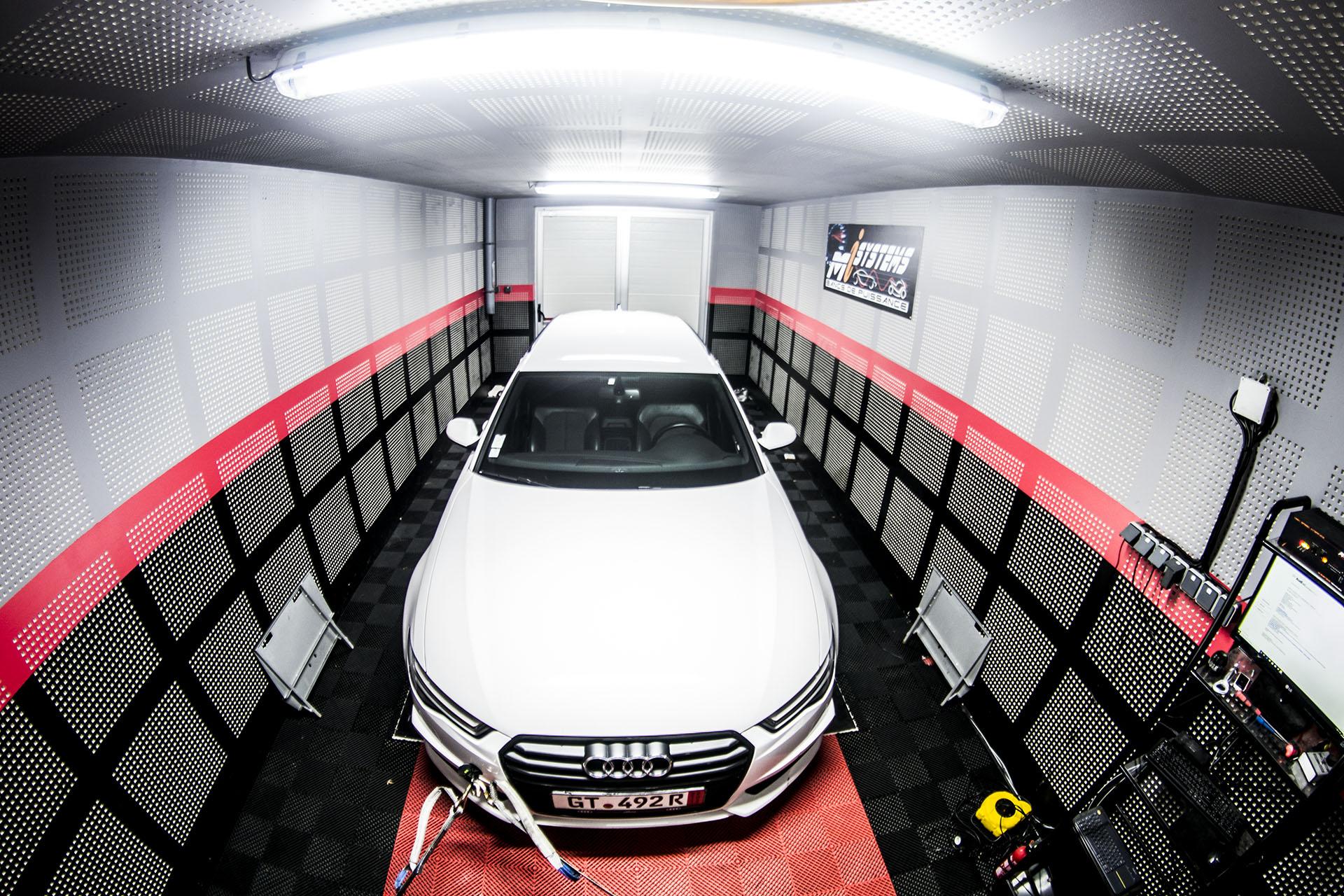 Reprogrammation Ethanol Audi A6 1.8 TFSI 190 + Stage 1 à Rouen 255cv