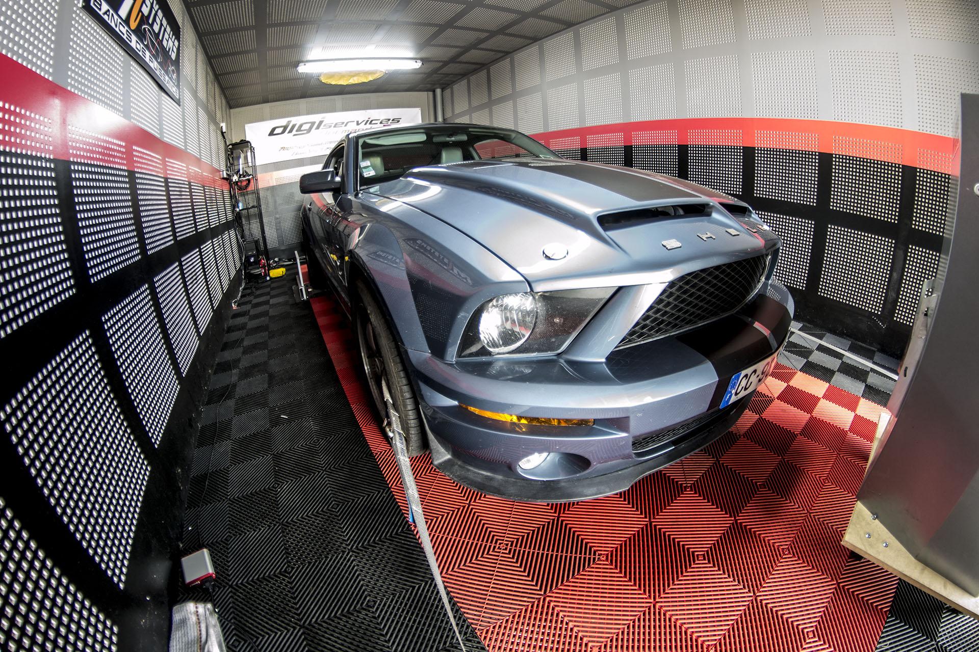 Passage au banc de puissance Mustang 4.6L 300cv | 303cv et 427Nm